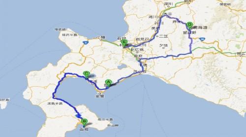 札幌市区景点地图